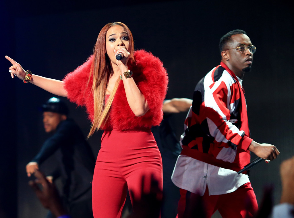 "Faith Evans, Sean ""Diddy"" Combs, 2015 BET Awards"